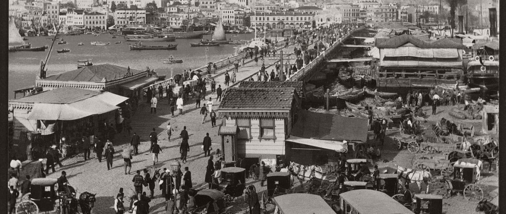 Historic B&W photos of Constantinople, Turkey (19th Century)