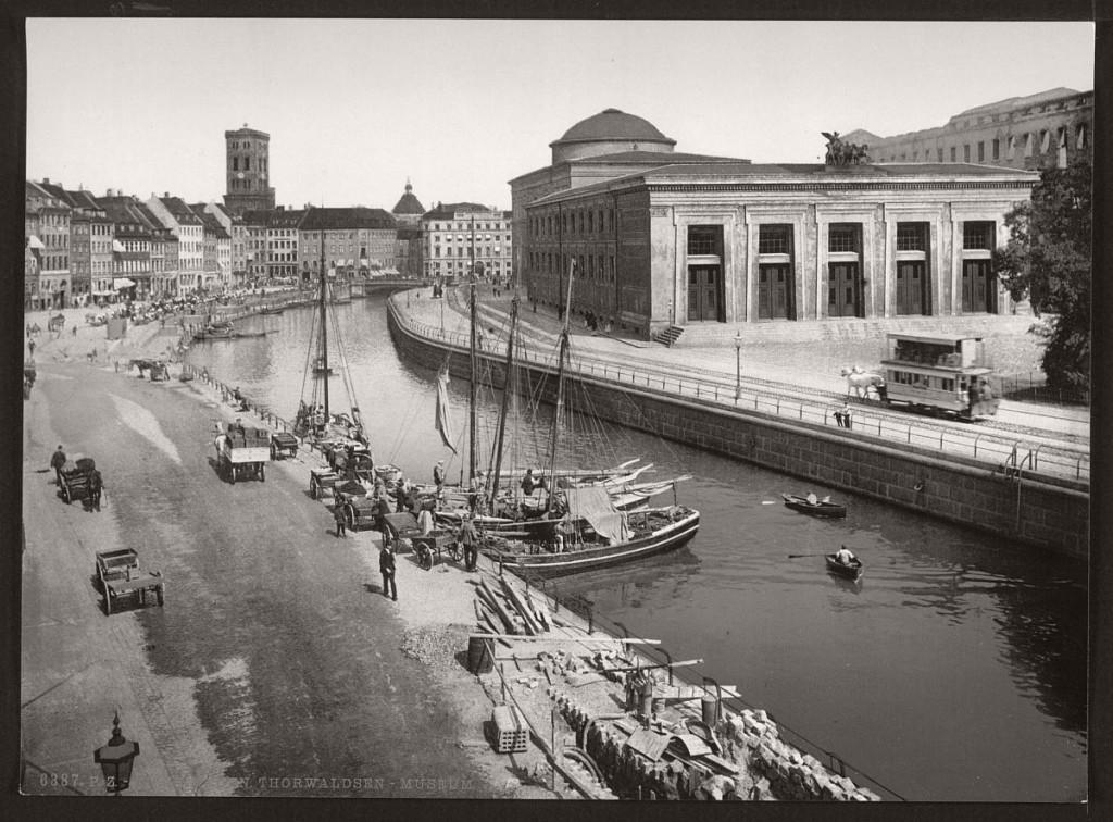 Historic B&W photos of Copenhagen, Denmark, late 19th ...