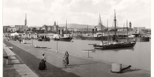 Historic B&W photos of Dublin, Ireland (19th century)