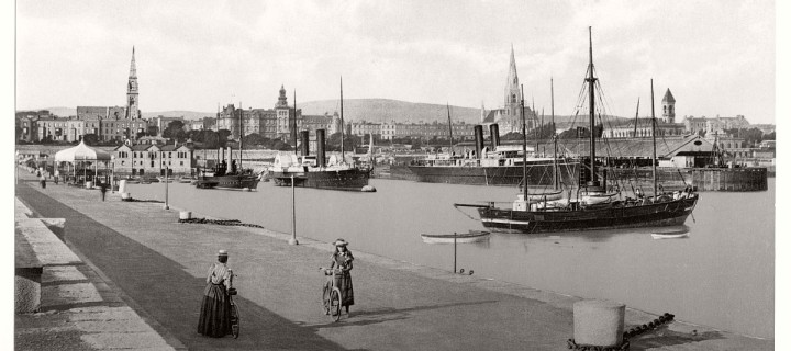 Historic B&W photos of Dublin, Ireland (19th century)