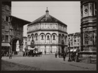 Historic B&W photos of Florence, Italy in the 19th Century