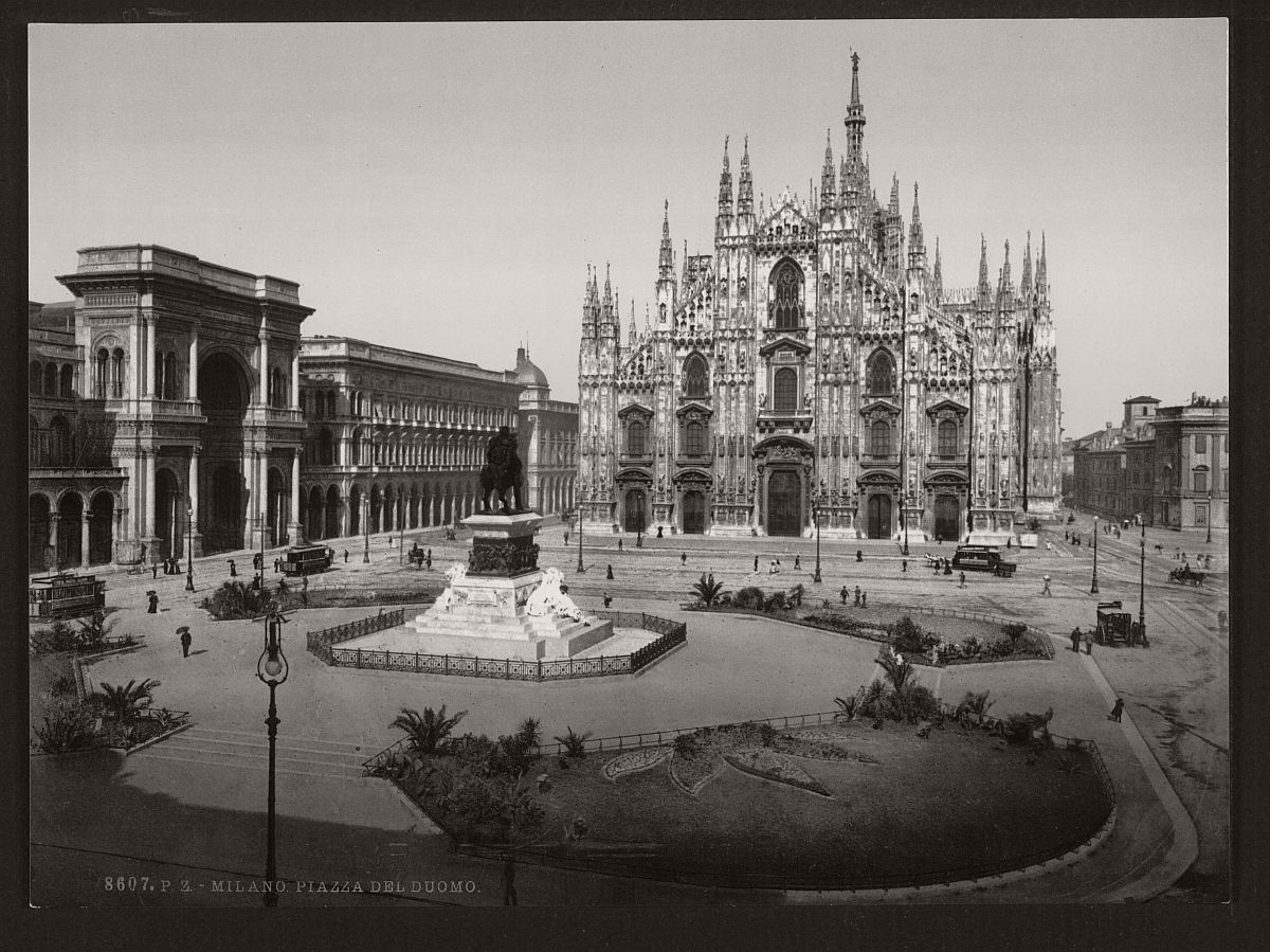 Historic b w photos of rome italy 19th century for Italy b b