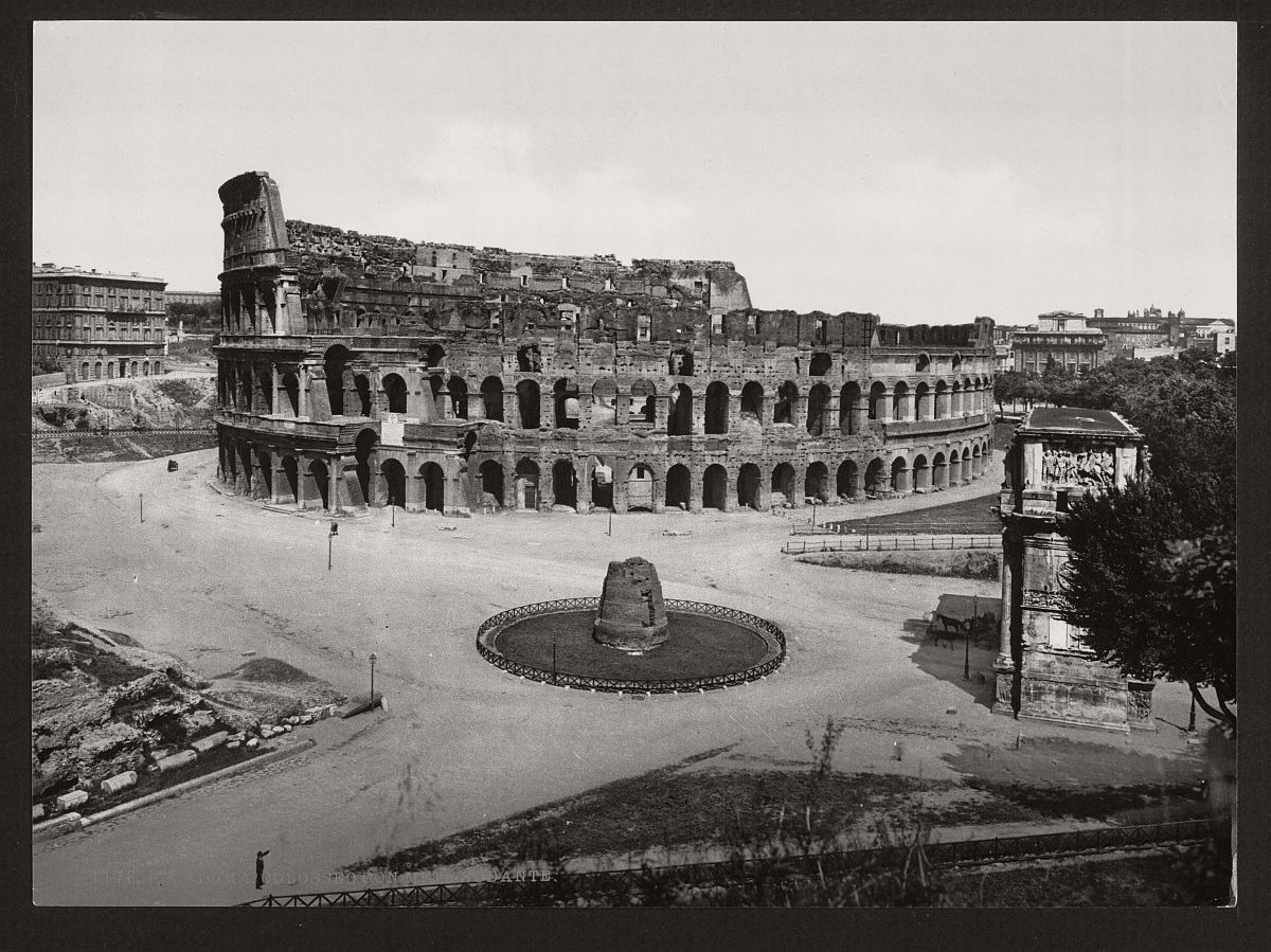 historic-bw-photos-of-rome-italy-in-the-19th-century-06