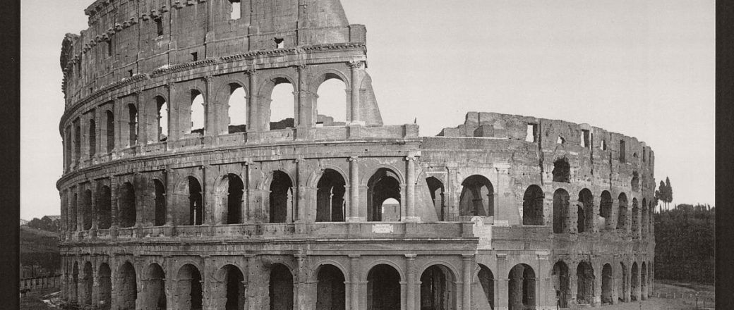 Historic B&W photos of Rome, Italy (19th Century)