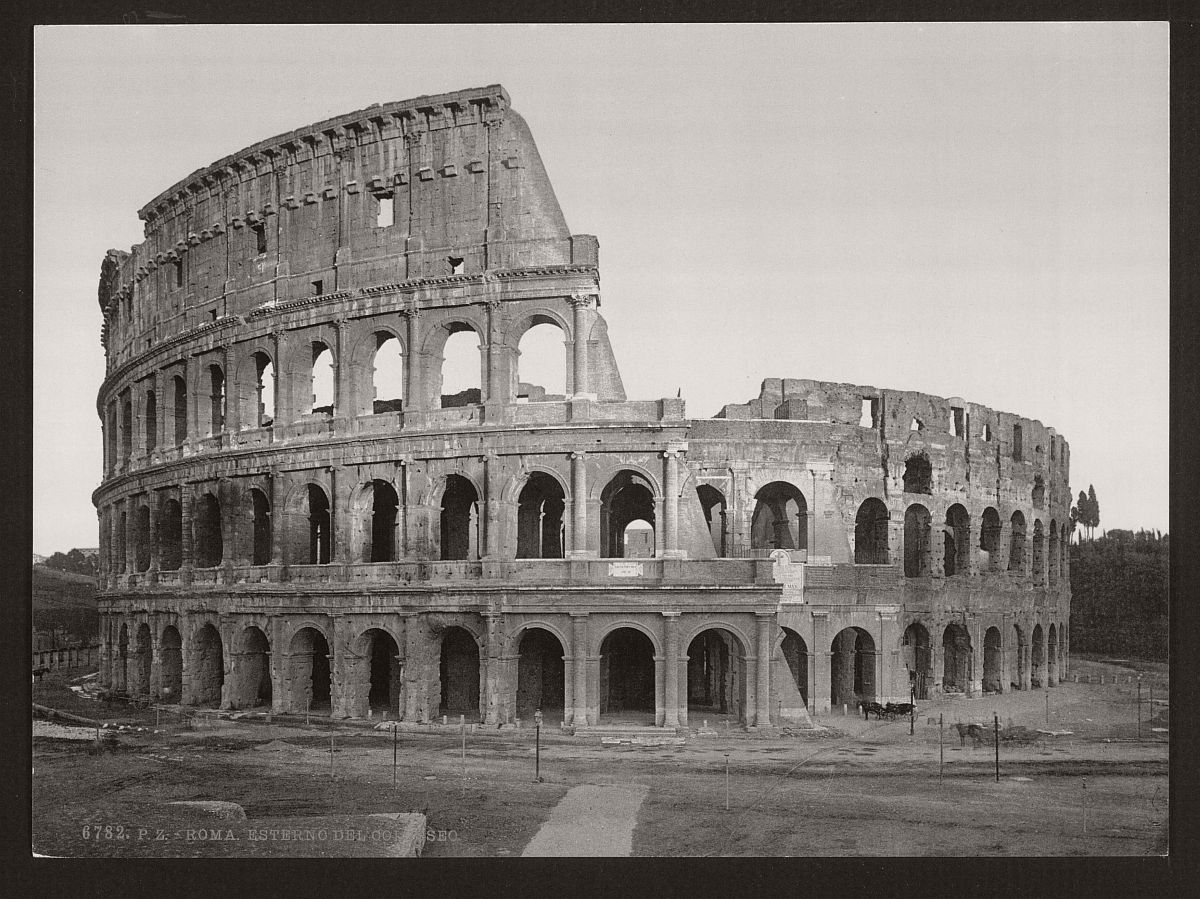 historic-bw-photos-of-rome-italy-in-the-19th-century-08