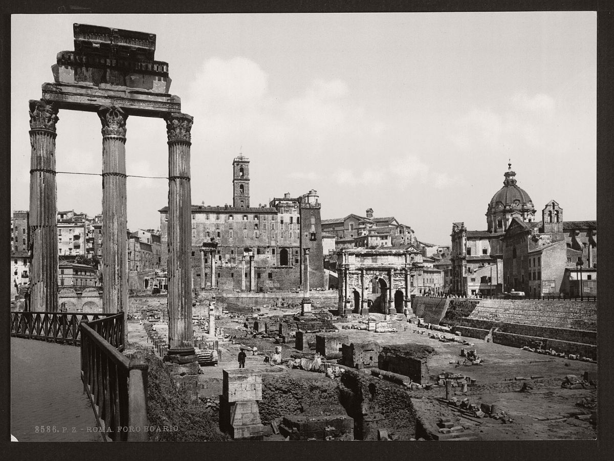 historic-bw-photos-of-rome-italy-in-the-19th-century-11