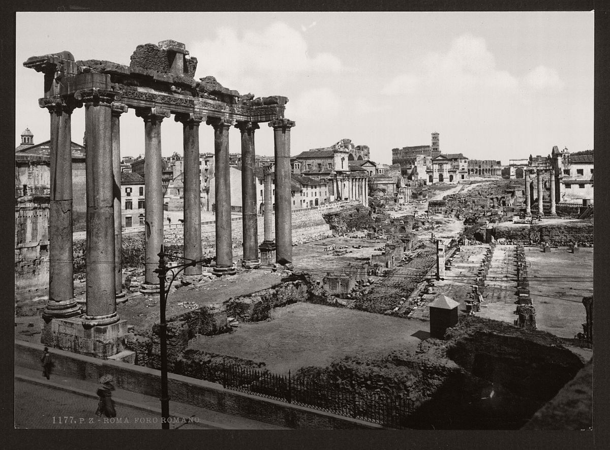historic-bw-photos-of-rome-italy-in-the-19th-century-12