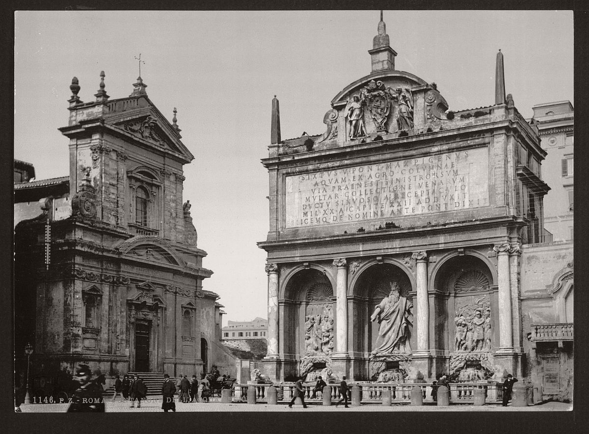 historic-bw-photos-of-rome-italy-in-the-19th-century-14