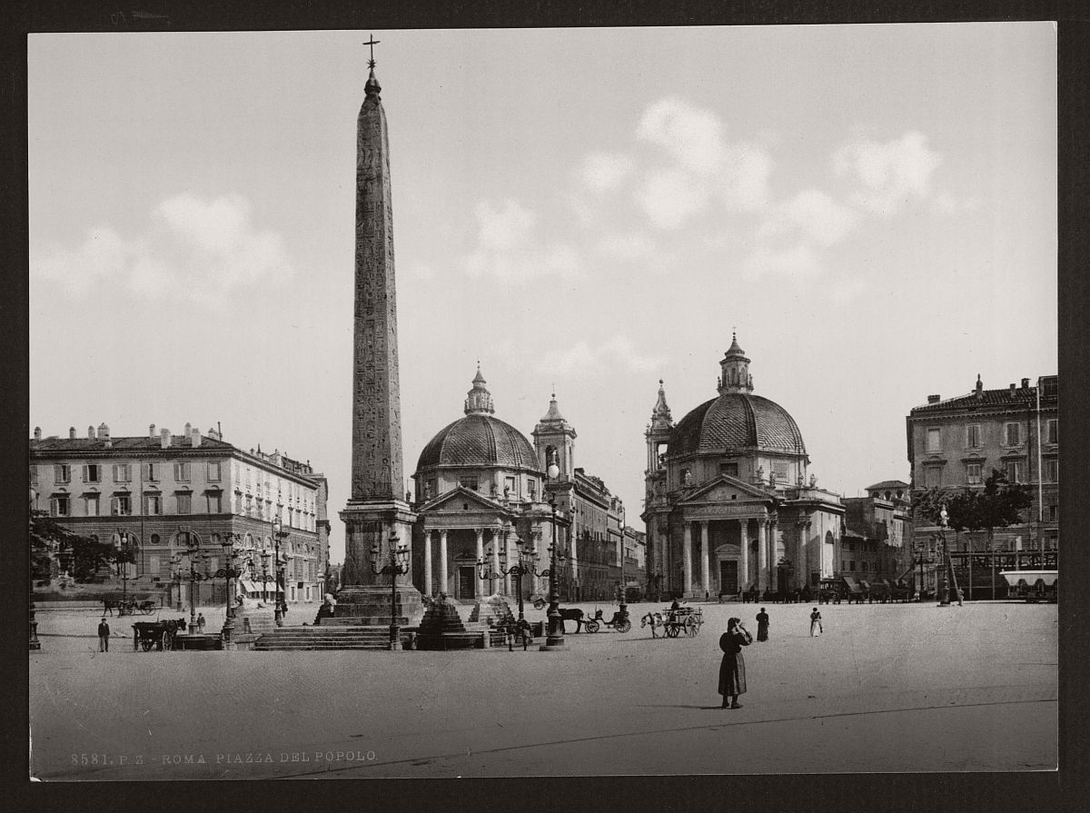 historic-bw-photos-of-rome-italy-in-the-19th-century-16