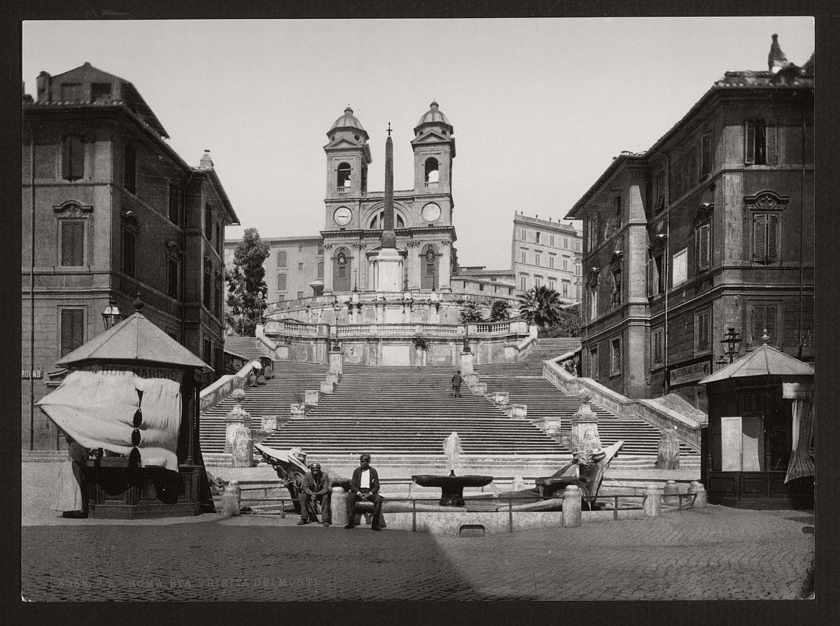 historic-bw-photos-of-rome-italy-in-the-19th-century-17