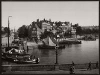Historic B&W photos of Rotterdam, Holland (19th century)