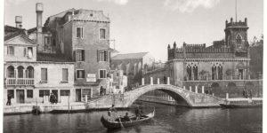 Historic B&W photos of Venice, Italy (19th century)