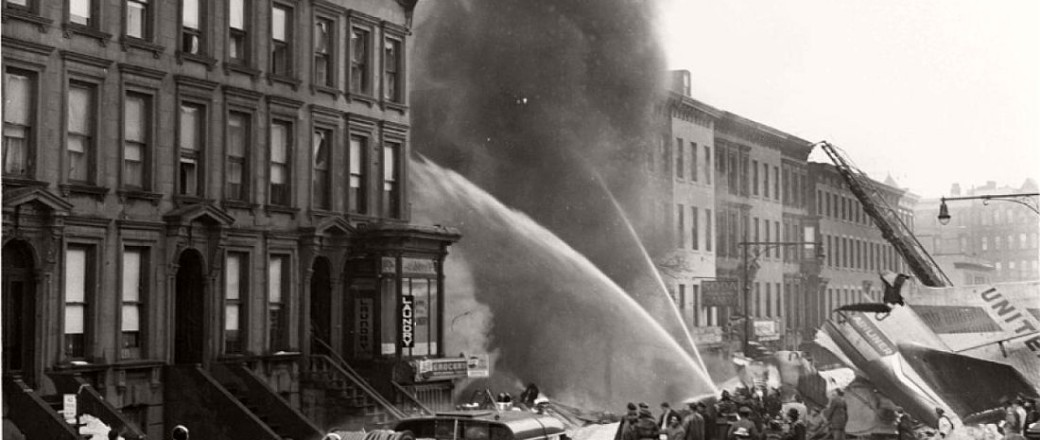 New York City mid-air plane crash (Park Slope, Brooklyn, 1960)