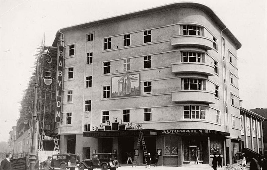 Historic photos of city life of berlin during the interwar for Architektur 20er jahre