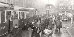 Historic photos of City Life of Berlin during the interwar period (1920s)