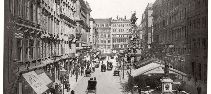Historic B&W photos of Vienna, Austro-Hungary (19th Century)