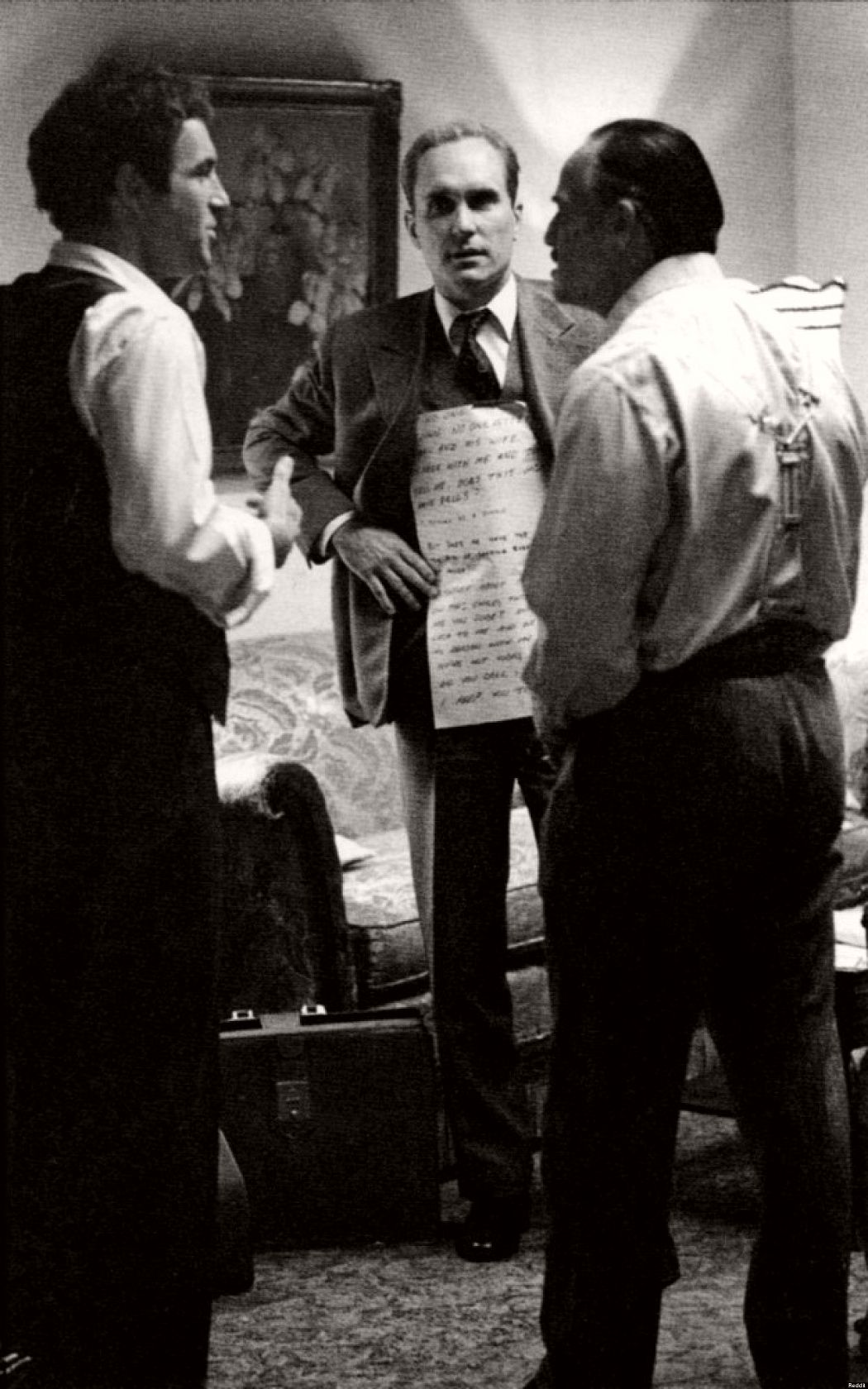 The Godfather 1972 Behind The Scenes Monovisions