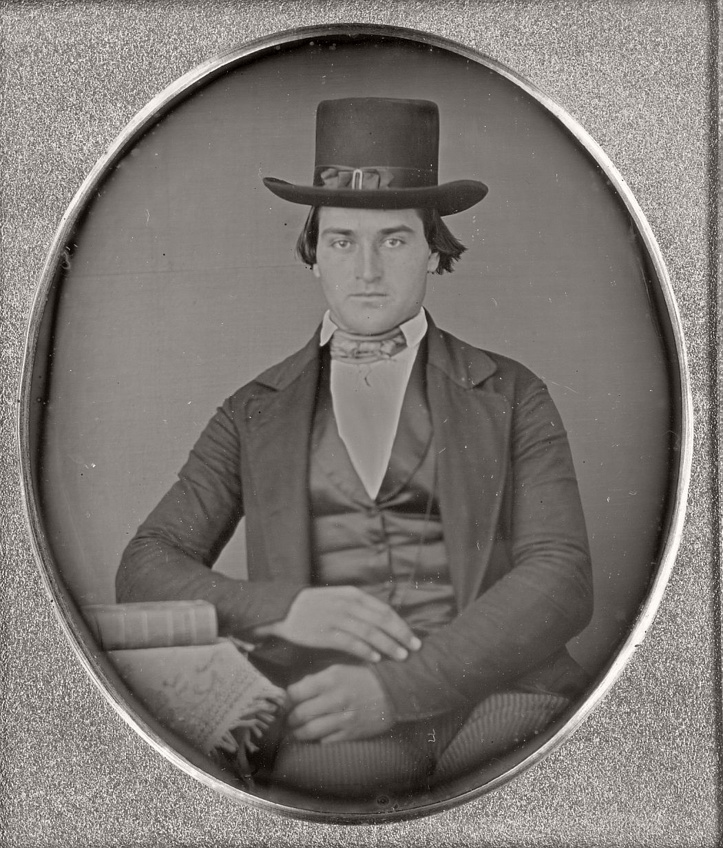 victorian-era-daguerreotype-of-men-in-hat-1850s-xix-century-15