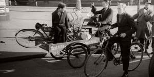 Vintage: Bicycles in Copenhagen, Denmark (1910s-1950s)