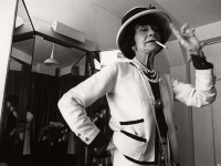 "Vintage photos of fashion icon Gabrielle ""Coco"" Chanel (1962)"