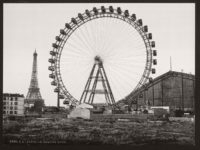 Vintage B&W photos of Paris, France (late 19th Century)
