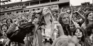 Vintage photos of Rolling Stones Fans by Joseph Szabo (1978)