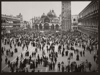 Vintage B&W photos of Venice, Italy (19th century)