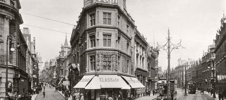 City Life and Streets of Bristol (1920s and 1930s)