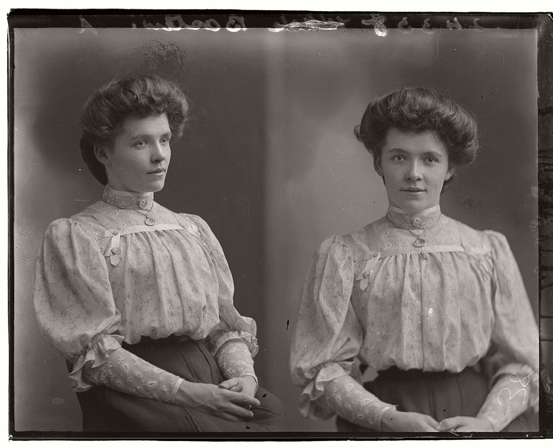 vintage-glass-plate-diptych-portraits-of-women-girls-1904-1917-18