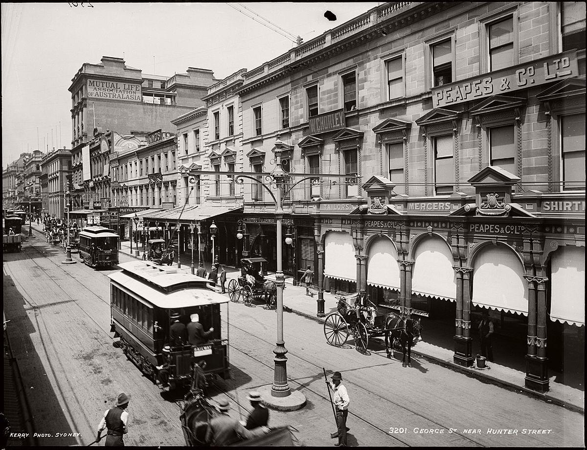 vintage-glass-plate-images-streets-sydney-city-australia-1900s-xix-century-111