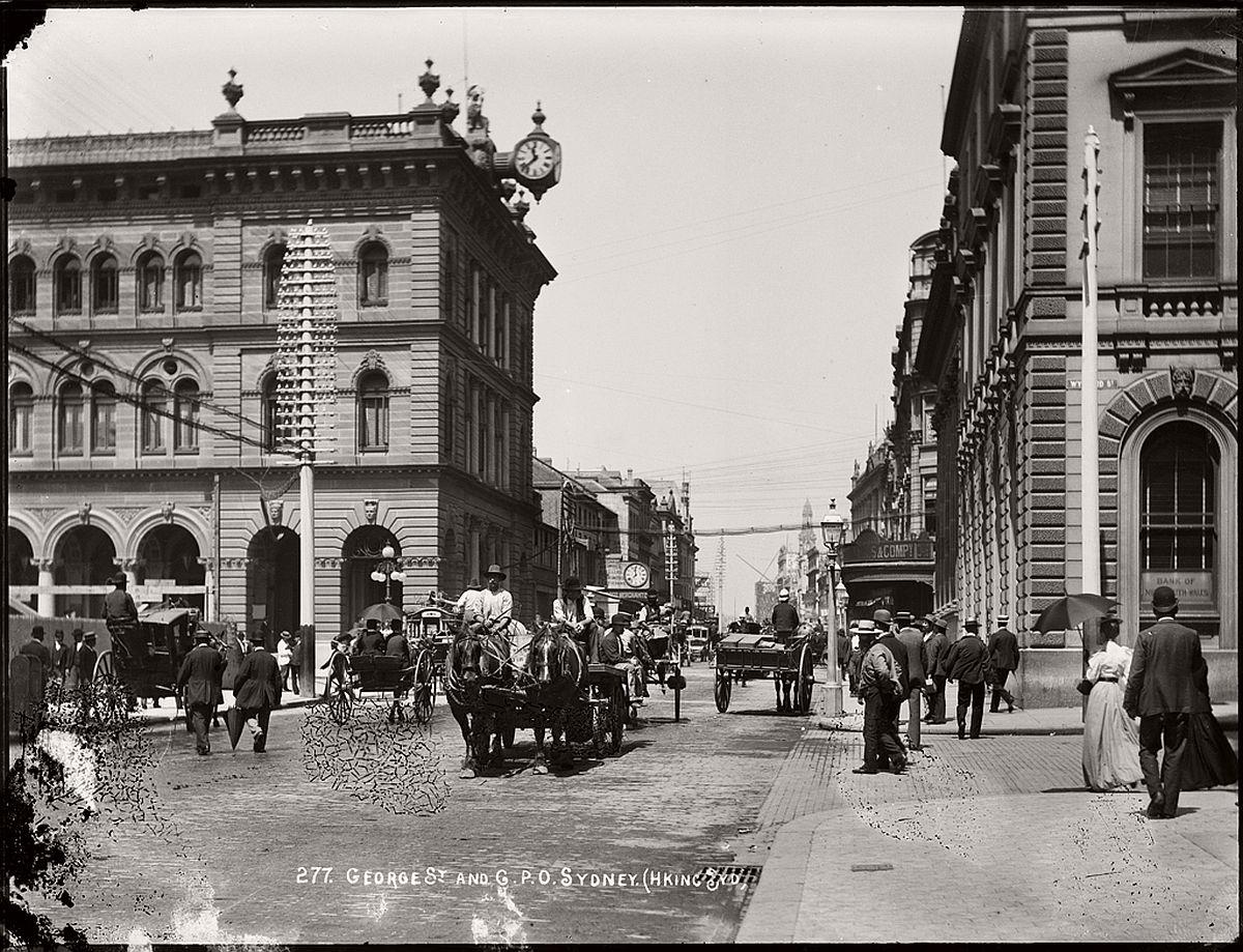 vintage-glass-plate-images-streets-sydney-city-australia-1900s-xix-century-31