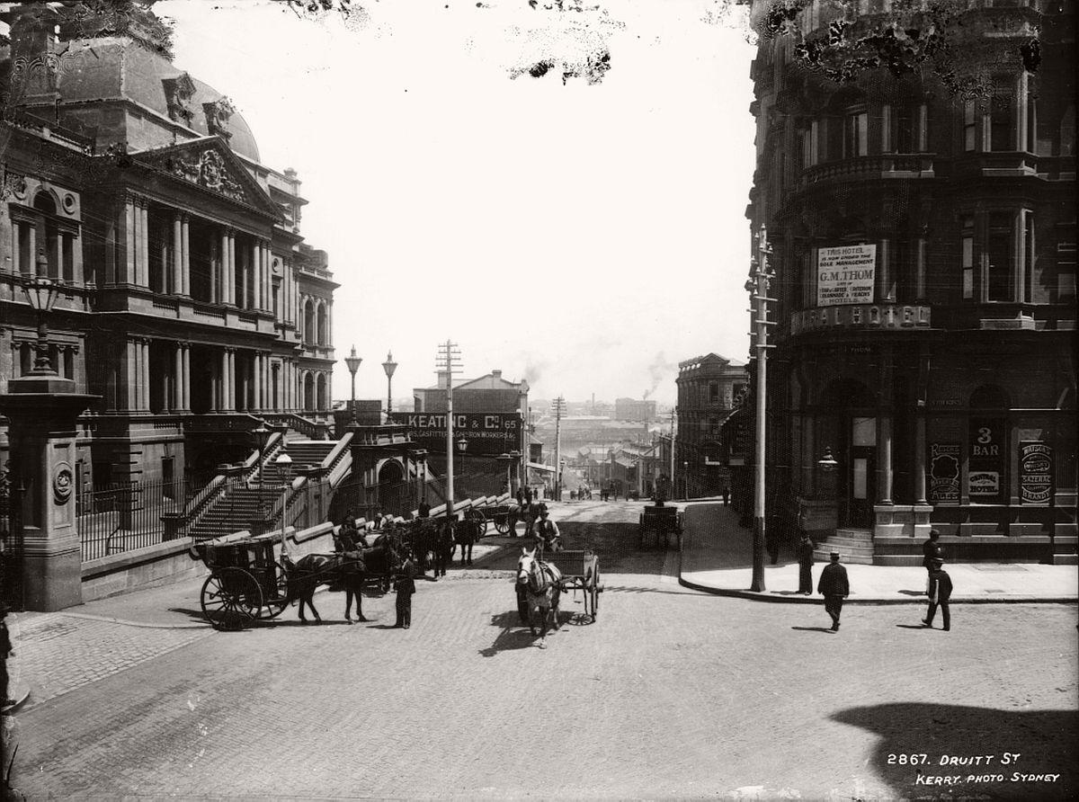 vintage-glass-plate-images-streets-sydney-city-australia-1900s-xix-century-491