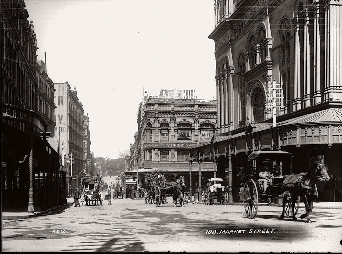 vintage-glass-plate-images-streets-sydney-city-australia-1900s-xix-century-591