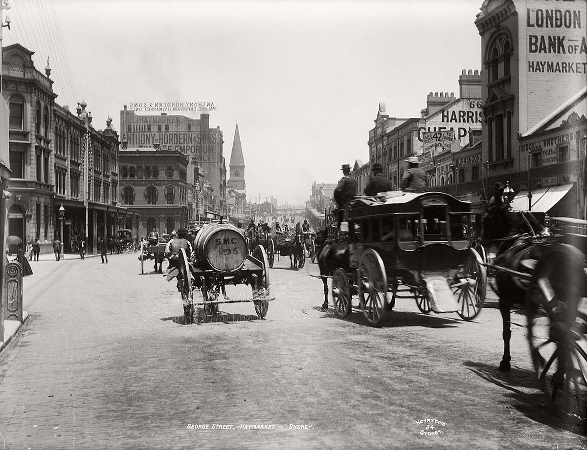 vintage-glass-plate-images-streets-sydney-city-australia-1900s-xix-century-631
