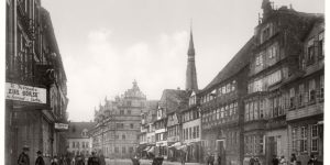 Historic B&W photos of Hanover, Germany (19th century)