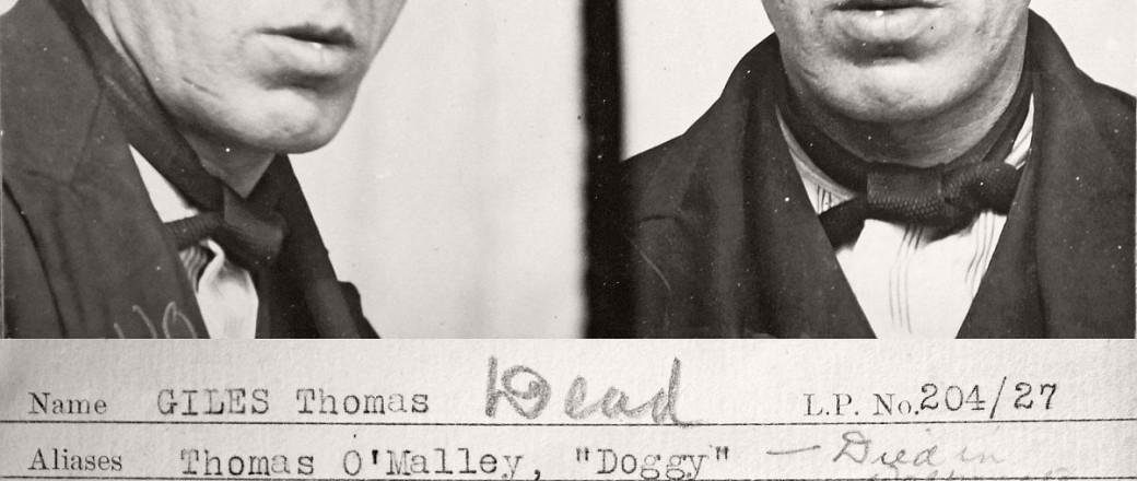 Vintage Mug Shot of criminals from Newcastle upon Tyne (1930s)