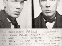 Vintage Mug Shot of criminals from Newcastle upon Tyne (1930s)