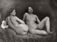 Vintage: 19th Century Lesbian Nudes (1880s)