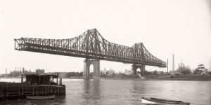 Vintage: Queensboro Bridge Under Construction (New York, 1907-1909)