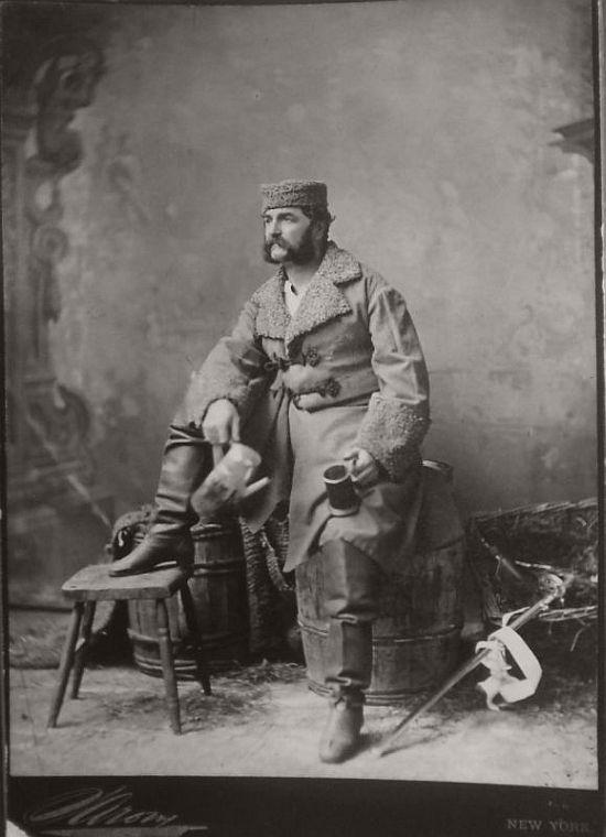 XIX Century Portrait photographer Napoleon Sarony