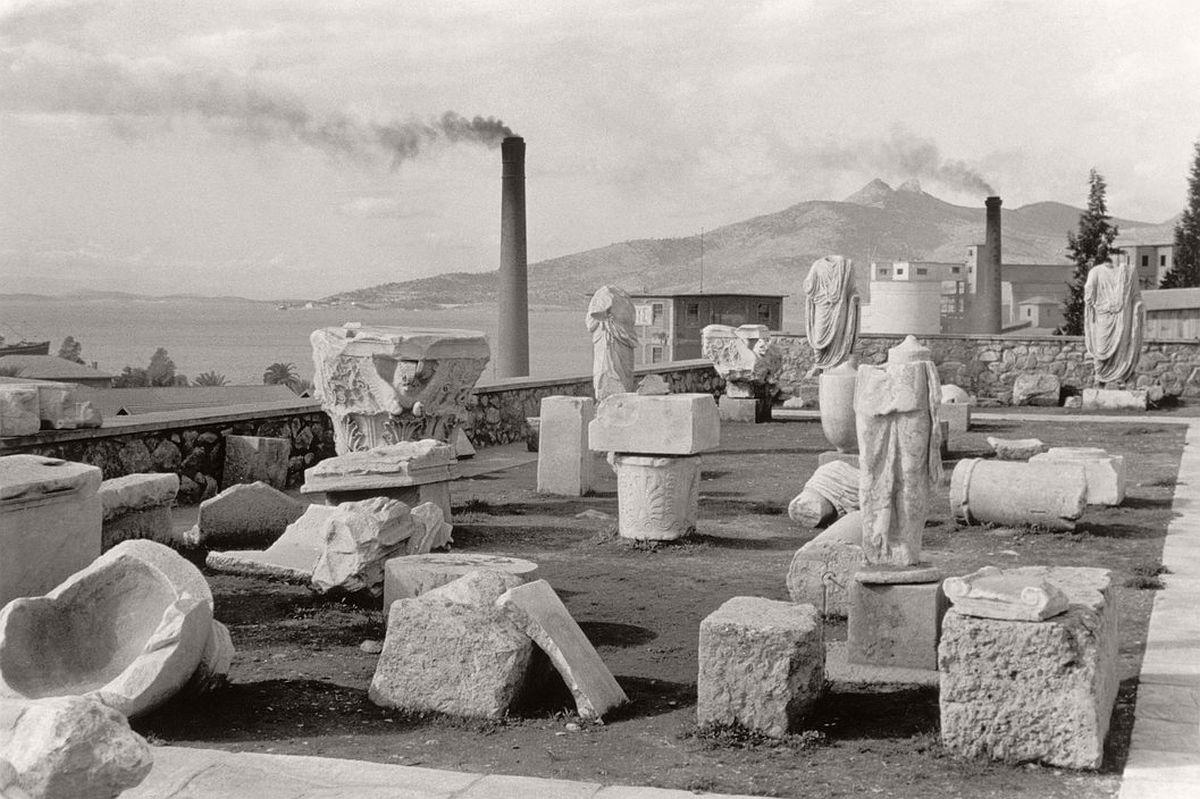 GREECE. Attica. Ancient Eleusina. 1953.
