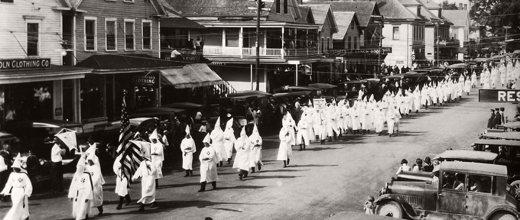 Vintage: photos of Ku Klux Klan Parade in 1920s