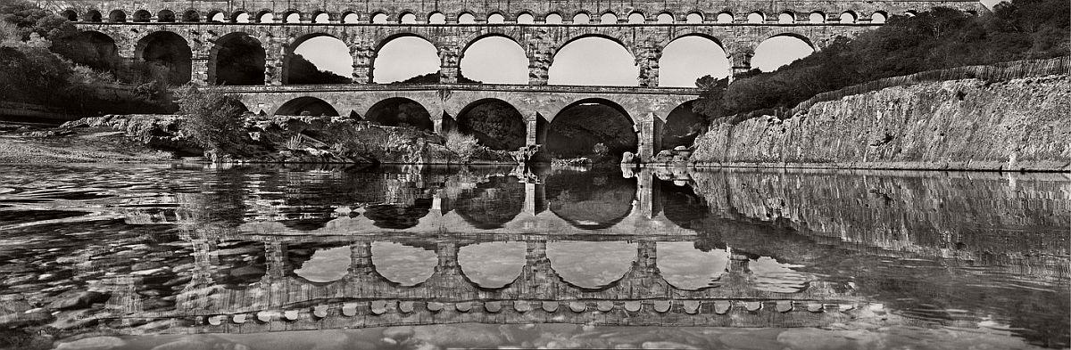 FRANCE. Pont du Gard. 2015.