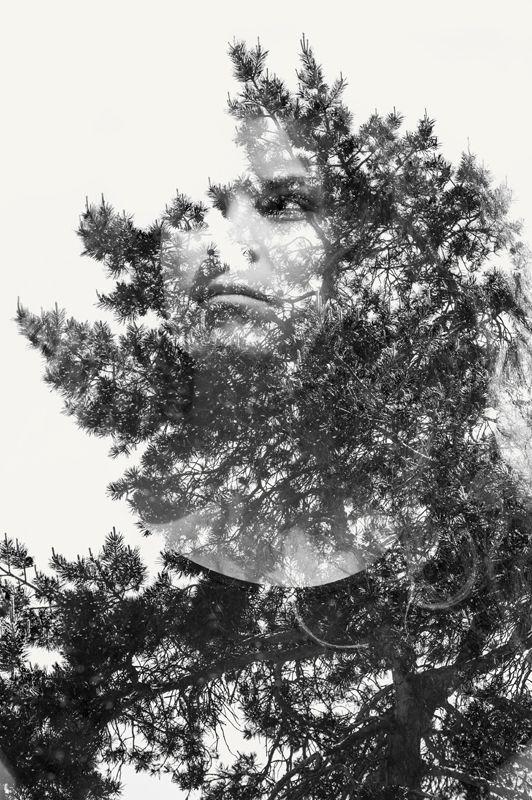 Woman and Tree © Jan Follby – Honorable Mention in Portrait, Amateur