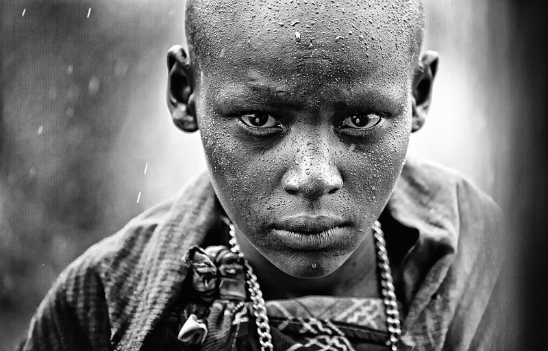 Rain Boy © Goran Jovic – Honorable Mention in Portrait, Professional