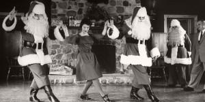 Vintage Santa Claus photos