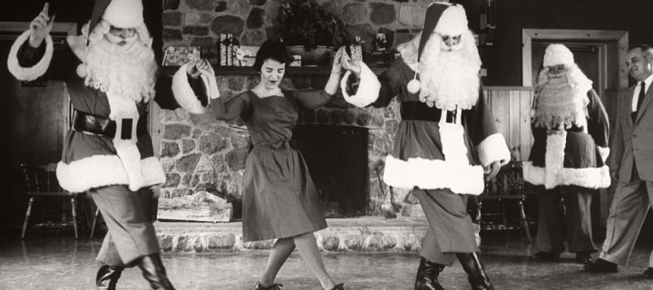 Vintage Santa Claus photos