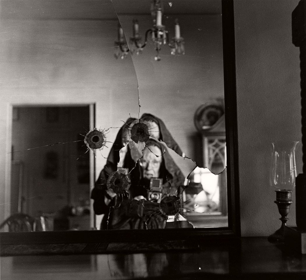 Self Portrait in Broken Mirror, 1973