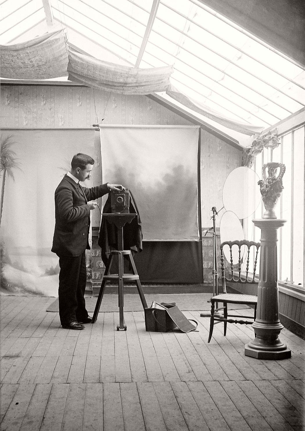 Atelier d'Amédé Fleury
