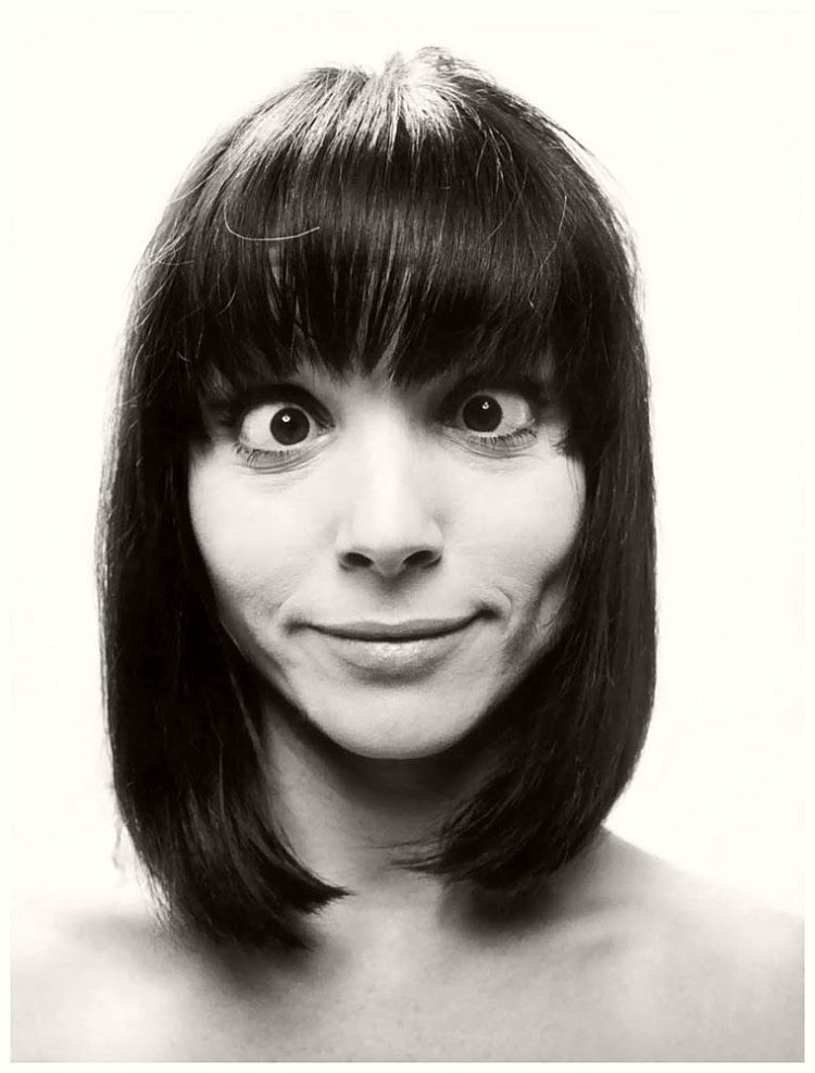 Elsa Martinelli - willy-rizzo-portraits-funny-faces-of-celebrities-1960s
